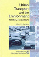 Urban Transport and the Environment for the 21st Century Book