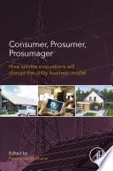 Consumer  Prosumer  Prosumager