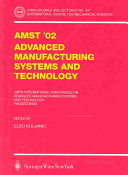 AMST   02 Advanced Manufacturing Systems and Technology