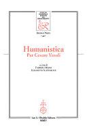 Humanistica per Cesare Vasoli