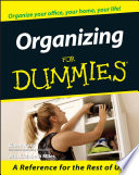 Organizing For Dummies Book PDF