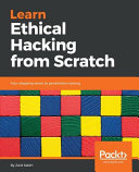 link to Learn ethical hacking from scratch : your stepping stone to penetration testing in the TCC library catalog