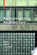 Re Humanizing Architecture