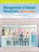 Management of Human Resources