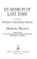 In Search of Lost Time Book PDF