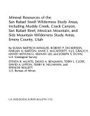 Mineral Resources of the Mill Creek Canyon Wilderness Study Area  Grand County  Utah