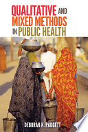 Qualitative And Mixed Methods In Public Health