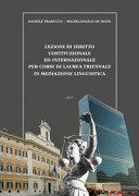 Lezioni di diritto costituzionale ed internazionale per corsi di laurea triennale in mediazione linguistica