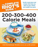 Pdf The Complete Idiot's Guide to 200-300-400 Calorie Meals