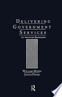 Delivering Government Services Book PDF