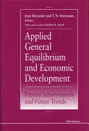 Applied General Equilibrium and Economic Development