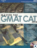 Master the GMAT CAT 2004