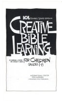 Creative Bible Learning for Children Grades 1 6