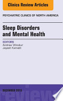 Sleep Disorders And Mental Health An Issue Of Psychiatric Clinics Of North America