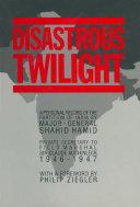 Disastrous Twilight [Pdf/ePub] eBook