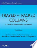 AIChE Equipment Testing Procedure   Trayed and Packed Columns