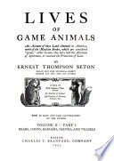 Lives of Game Animals