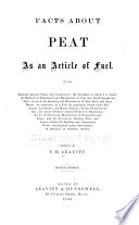 Facts About Peat As An Article Of Fuel Book PDF