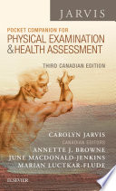 Pocket Companion for Physical Examination and Health Assessment - E-Book