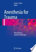 Anesthesia For Trauma Book PDF