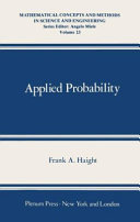 Applied Probability Book PDF