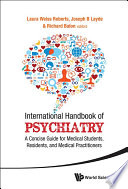 International Handbook of Psychiatry