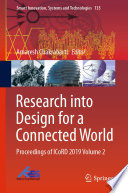 Research into Design for a Connected World Book