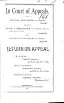 Pdf New York Court of Appeals. Records and Briefs.