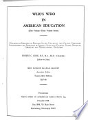 Who's who in American Education