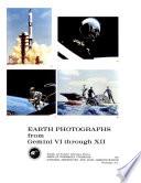 Earth Photographs from Gemini VI Through XII.