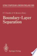 Boundary Layer Separation Book