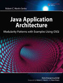 Java Application Architecture