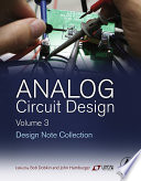 Analog Circuit Design Volume Three Book PDF