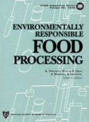 Environmentally Responsible Food Processing Book