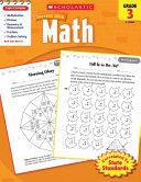 Scholastic Success With Math, Grade 3