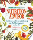 Prevention Magazine's Nutrition Advisor Pdf/ePub eBook