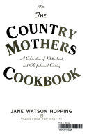 The Country Mothers Cookbook