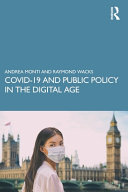 Covid 19 and Public Policy in the Digital Age