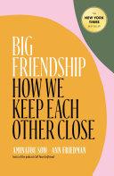 Pdf Big Friendship