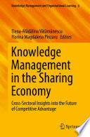 Knowledge Management in the Sharing Economy Book