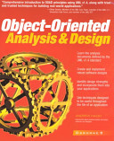 Object oriented Analysis   Design Book