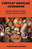 Copycat Mexican Cookbook Book PDF