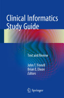 Clinical Informatics Study Guide Pdf/ePub eBook