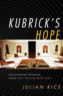 Kubrick's Hope Pdf/ePub eBook
