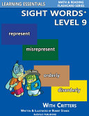Sight Words Plus Level 9: Sight Words Flash Cards with Critters for Grade 3 & Up Pdf/ePub eBook