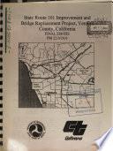 U.S. Highway 101 Improvement Project, Vineyard Avenue to Johnson Drive, Cities of Oxnard and San Buenaventura, Ventura County