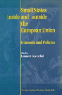 Pdf Small States Inside and Outside the European Union