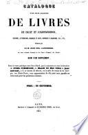 Catalogue d'une belle collection de livres de droit et jurisprudence, ... délaissés par feu M. Jean-Eug. Lantheere, en son vivant avocat à la Cour d'Appel de Gand