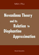 Nevanlinna Theory and Its Relation to Diophantine Approximation