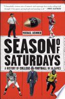 Season of Saturdays Book